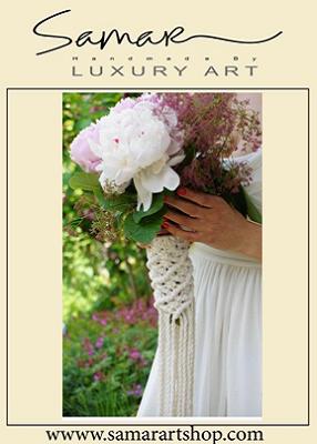 گیره دست گل عروس